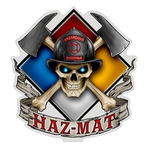 Haz Mat Decal-Military Republic