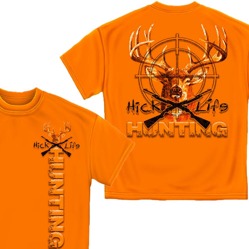 Hick Life Hunting T-Shirt-Military Republic