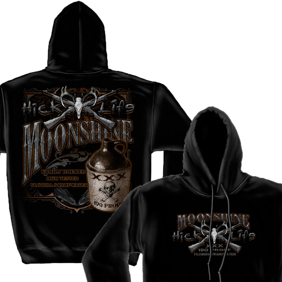 Hick Life Moonshine Hoodie-Military Republic