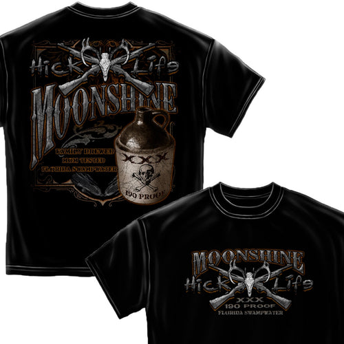 Hick Life Moonshine T-Shirt-Military Republic