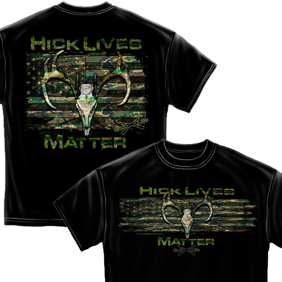 Hick Lives Matter T-Shirt-Military Republic