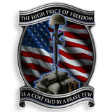 High Price Of Freedom Decal-Military Republic