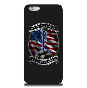 High Price Of Freedom Phone Case-Military Republic