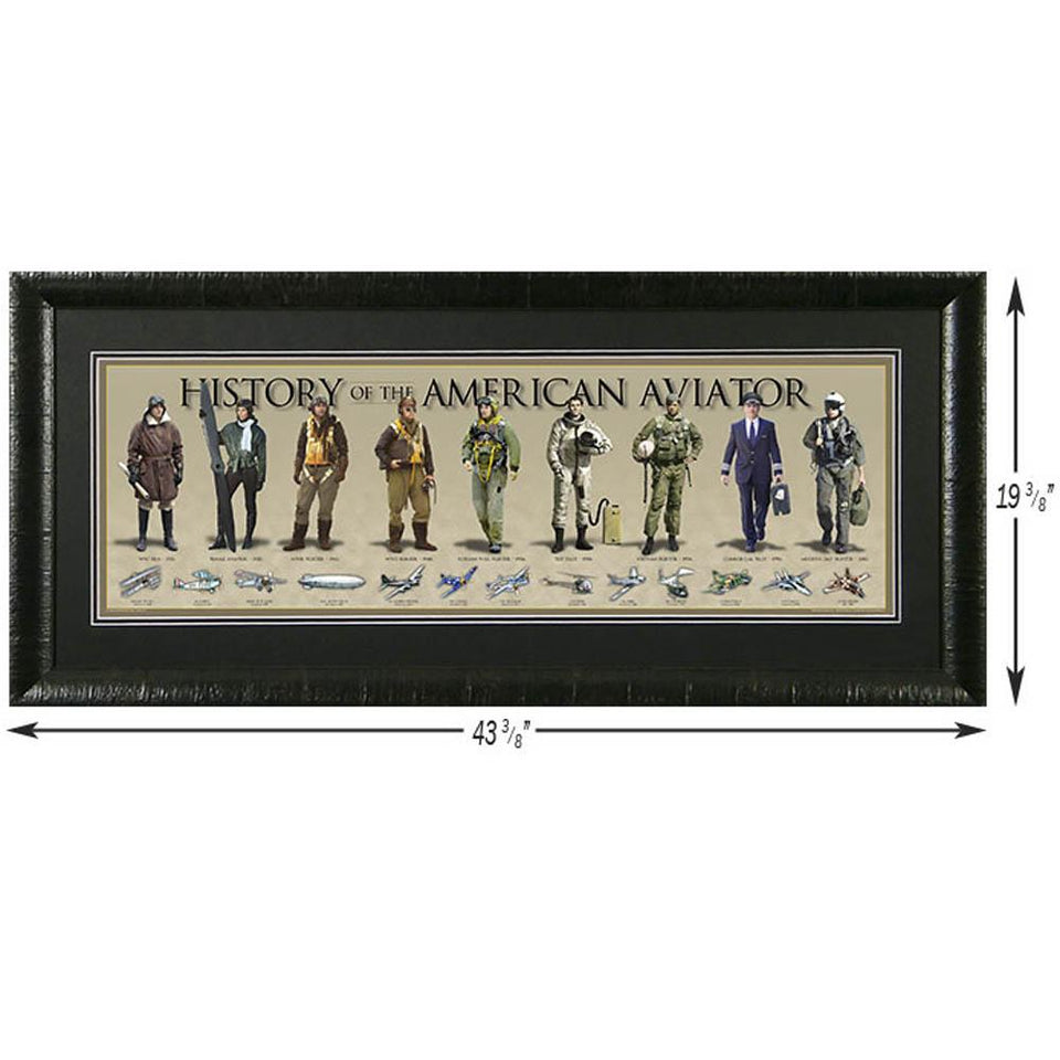 History of the Air Force - Framed Poster