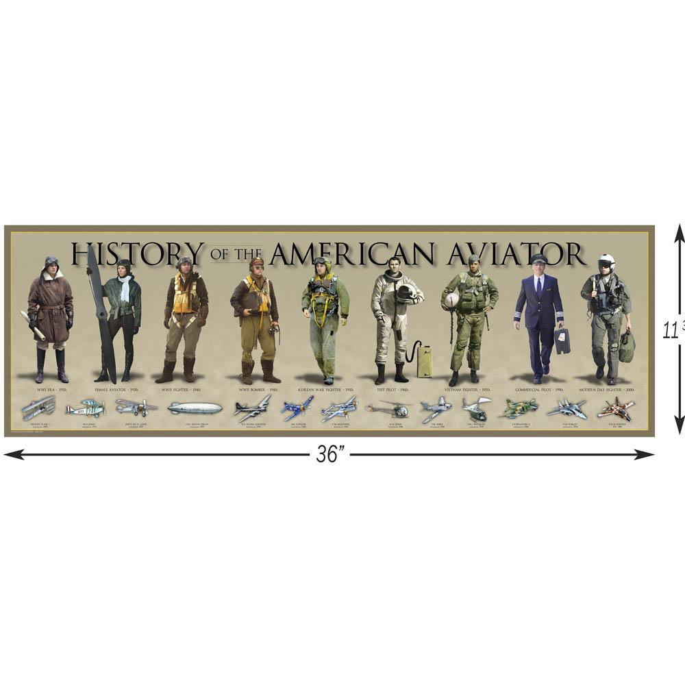 History of the Air Force - Poster