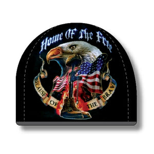 Home Of The Free - Because Of The Brave Beanie-Military Republic