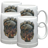 Home Of The Free Because Of The Brave Stoneware Mug Set-Military Republic