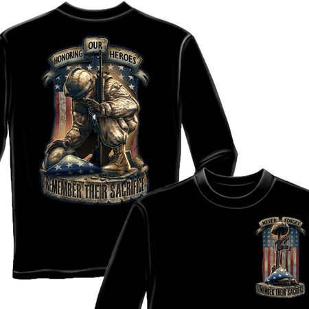 Honor Our Heroes T Shirt-Military Republic