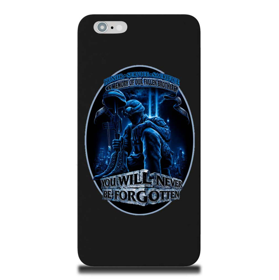 In Memory Of Our Fallen Brothers Phone Case-Military Republic