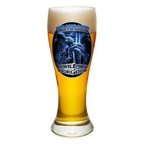 In Memory Of Our Fallen Brothers Pilsner Glasses Set-Military Republic