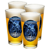 In Memory Of Our Fallen Brothers Pint Glasses-Military Republic