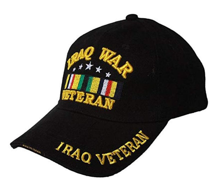Iraq War Veteran Military Hat with Shadow