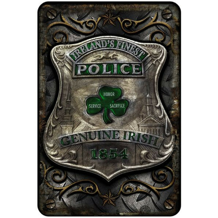 Irish Police: Genuine Irish Police Decal