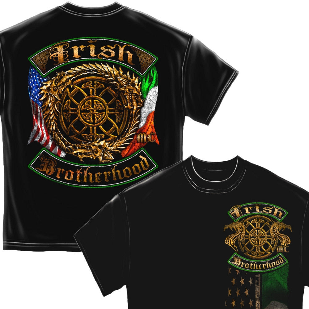 Irish Brotherhood T-Shirt-Military Republic