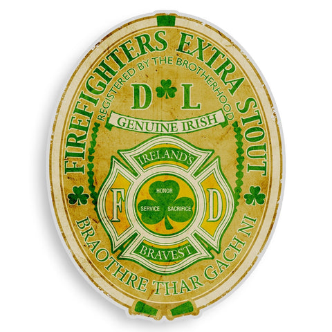 Irish Firefighter Decal-Military Republic