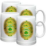Irish Firefighter Stoneware Mug Set-Military Republic