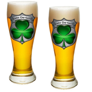 Irish Police Pilsner Glass Set
