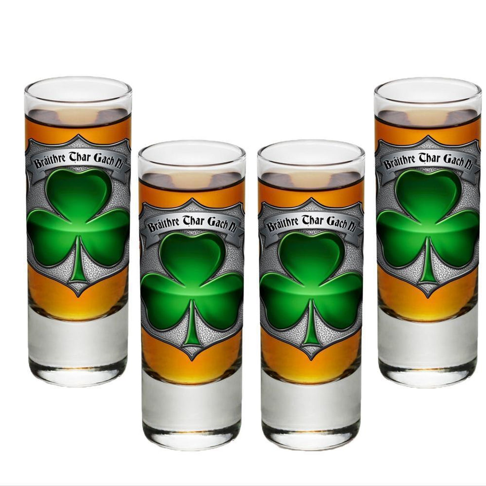 Irish Police Shot Glasses-Military Republic