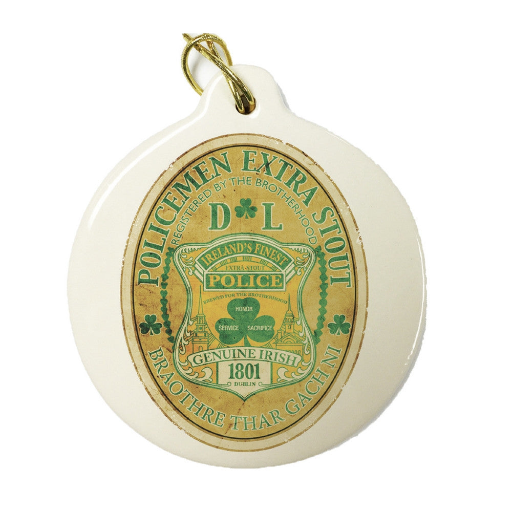 Irish Policeman Christmas Ornament-Military Republic