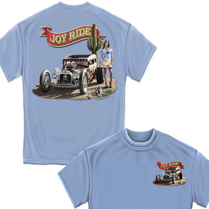 Joy Ride Hot Rods T-Shirt-Military Republic