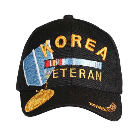 Korea Veteran Medal Hat (Black)-Military Republic