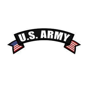 US Army Rocker Back Patch-Military Republic