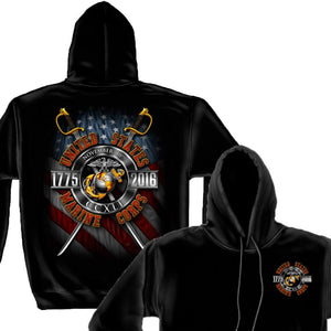 Marines Birthday 241 Years 2016 COLLECTORS T-Shirt-Military Republic