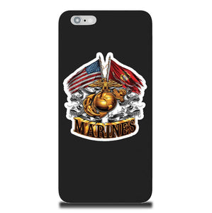 Marines Double Flag Phone Case-Military Republic