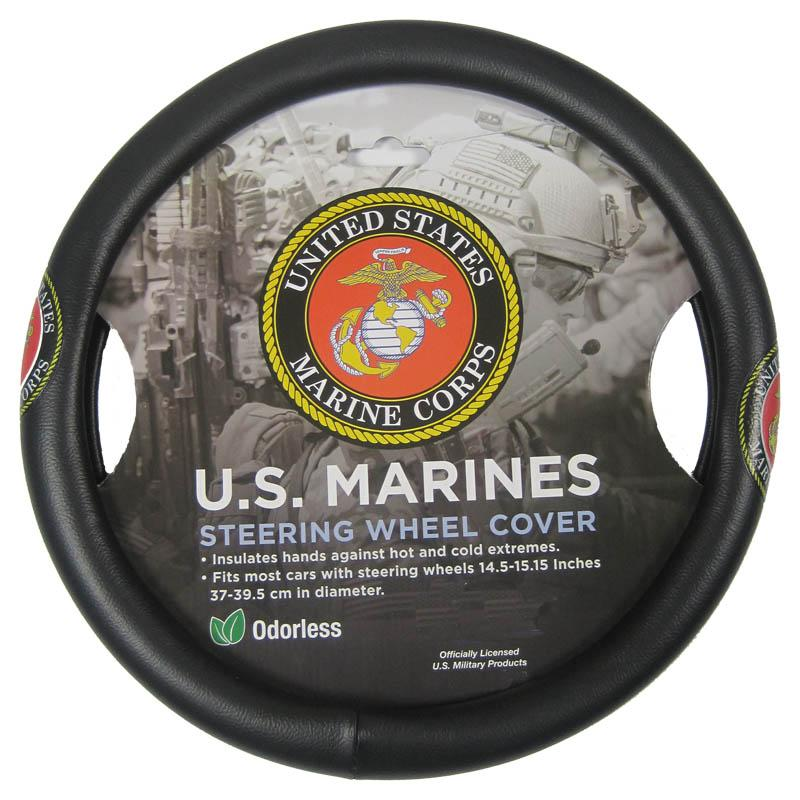 Marines Steering Wheel Cover-Military Republic