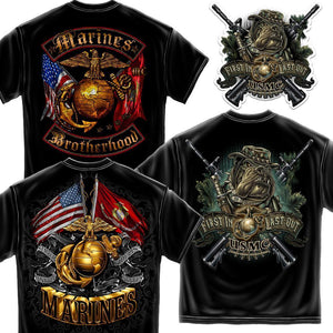 Marines Super Tees Pack-Military Republic