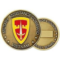 Military Assistance Command Vietnam Challenge Coin (38MM inch)
