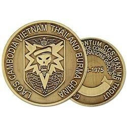 Military Asst Cmd Vietnam Studies & Observations Group (MACV-SOG) Challenge Coin (38MM inch)