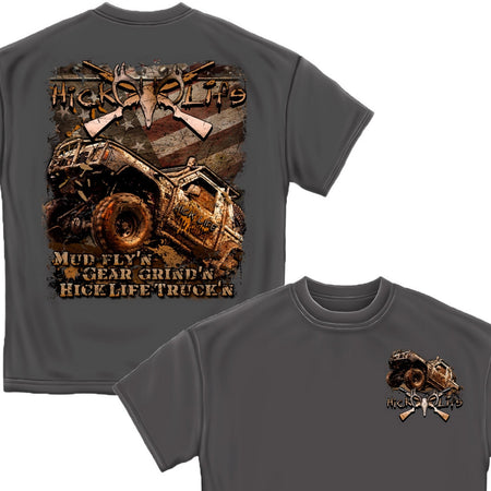 Mud Trucking T-Shirt-Military Republic