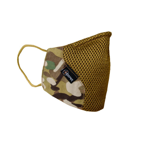 Multicam/OCP Premium Reusable Face Mask in Military Style