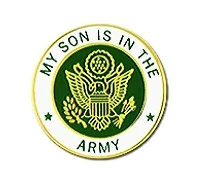My Son Is In The Army Insignia Pin (7/8