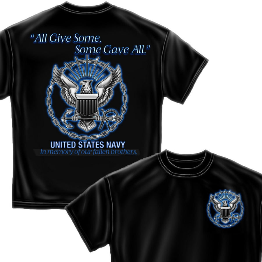 Navy All Gave Some T-Shirt-Military Republic