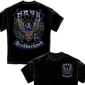 Navy Brotherhood Steel Foil T-Shirt-Military Republic