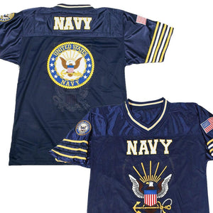 Navy Football Jersey-Military Republic