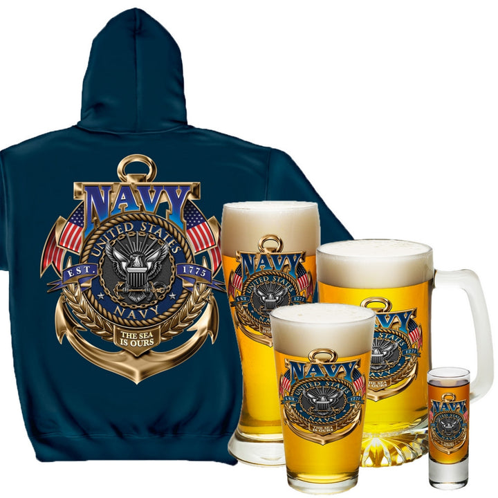 Navy Holiday Gift Set-Military Republic