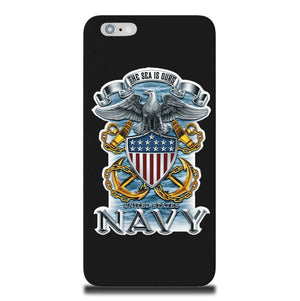 Navy The Sea Is Ours Phone Case-Military Republic