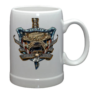 Once A Marine Always A Marine Stoneware Mug Set-Military Republic
