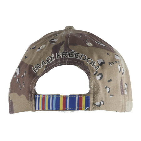 Operation Iraqi Freedom Veteran Camo Cap