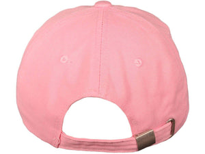"Pink Ribbon Breast Cancer Awareness with ""Support a Cure"" Embroidered Baseball Hat-Military Republic"
