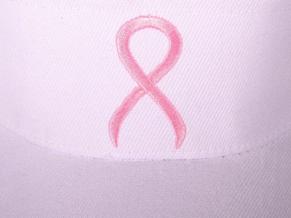 Pink Ribbon Breast Cancer Awareness Visor-Military Republic