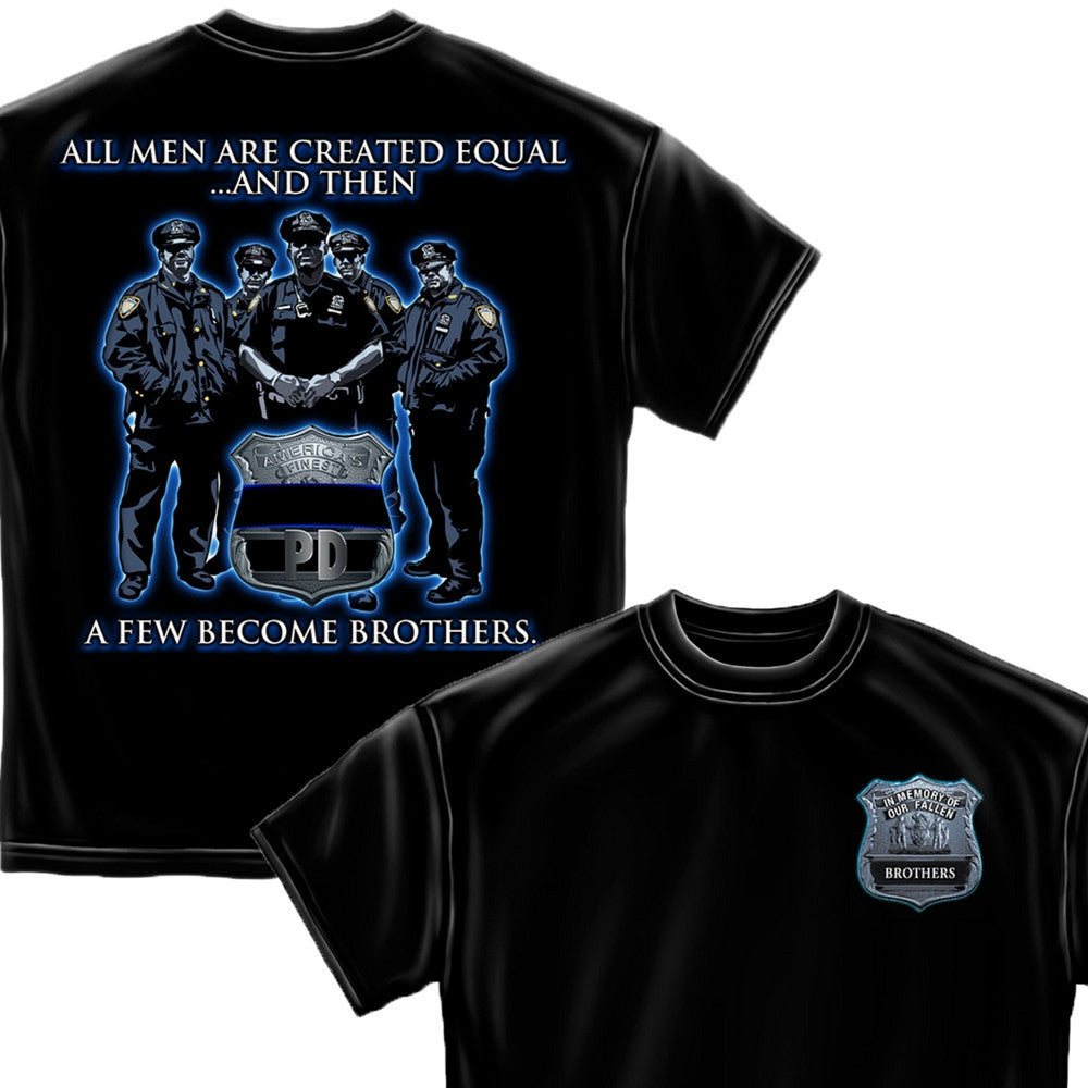 Police Brotherhood T-Shirt-Military Republic