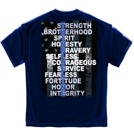 Police Thin Blue Line T-Shirt