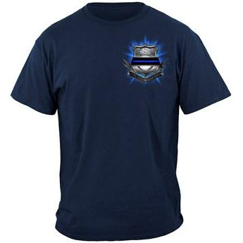 Policeman's Prayer - America's Finest T-shirt