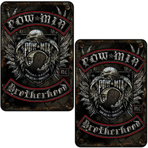 POW MIA Aluminum Sign-Military Republic
