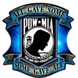 POW MIA Decal-Military Republic