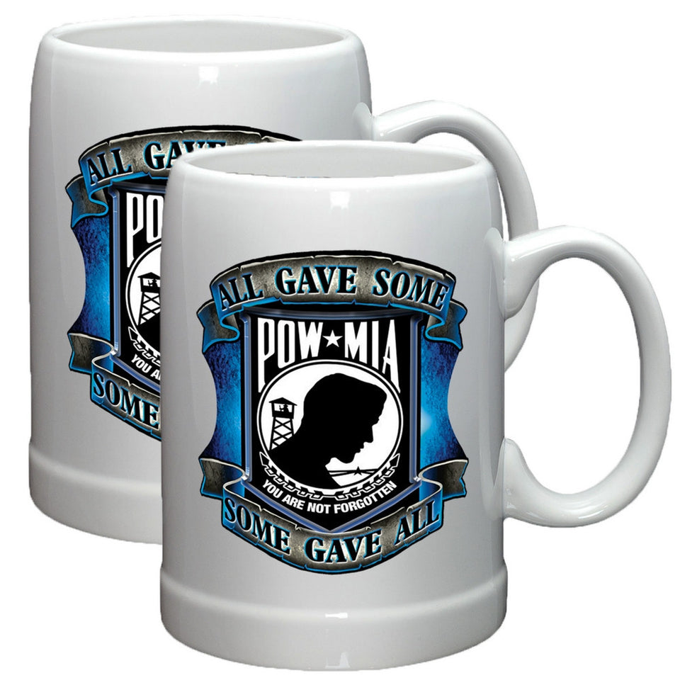 POW MIA Stoneware Mug Set-Military Republic